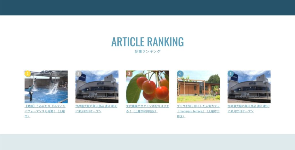 ARTICLE RANKING